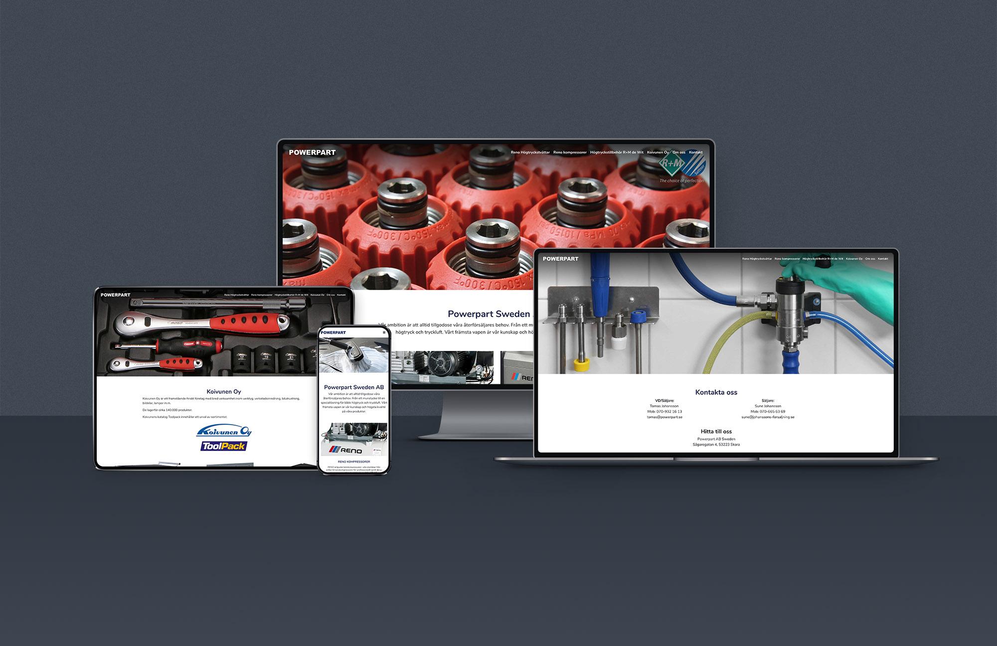 webbdesign av reklambyrå i lidköping